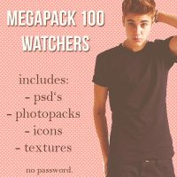 100 watchers pack. by kingmccanns