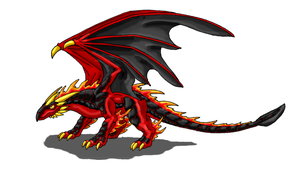 Fire Dragon by Scatha-the-Worm