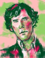 Sherlock from BBC Sherlock by one-more-miracle