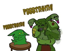 Nurglin' it up. by Mr-Culexus