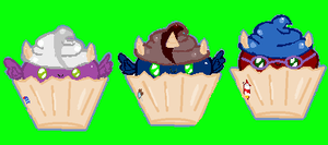 Cupcake pony batch 4 by MarietheDragonwolf