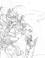 Optimus Prime WIP by Taylor-the-Weird