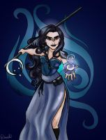 Moonlit Witch by Sekhmet-Heart