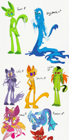 More OC Redesigns~ by 8-Xenon-8