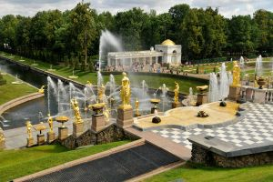 Peterhof fountain 3 by wildplaces