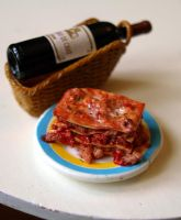Miniature Lasagna by ChocolateDecadence