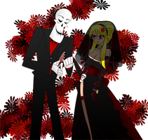 griMandy wedding by kerenitychan
