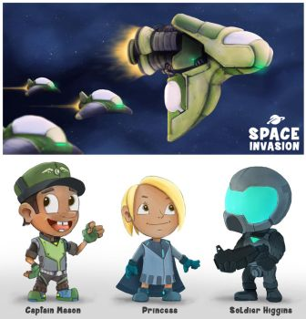Space Invasion by Devin87