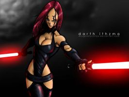 Darth Ithzma by EnygmatycNinja