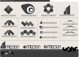 Mason Energy Logotypes by vann-bek