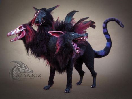 Cerberus Room Guardian FOR AUCTION by AnyaBoz