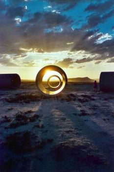 Sun Tunnels by maggiemayday