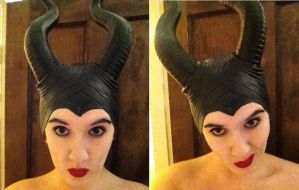 More Maleficent Head Shots {W.I.P Costume Test} by unipal390