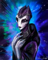 Salarian Princess by Klar-Jezebeth