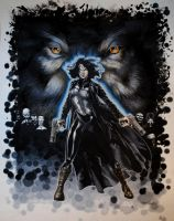 Underworld Awakening IMAX Art by RichardCox