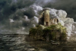 The Island of Solitude by PhotoAlterations