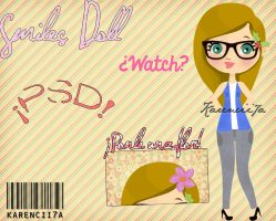 Smiles Doll! By-Karencii7a by Karencii7a