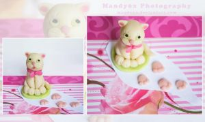 marzipan cat by Mandy0x