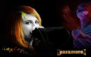 Paramore wallpaper by JediKnight14