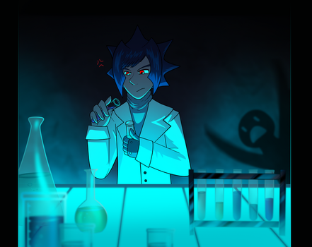 Zetto shouldn't play with chemicals by Quantum-Illusionist