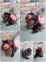 Life size Zombie Squirrel by IckyDog