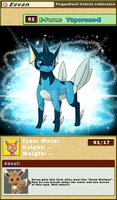 DATA: E-01 .:VAPOREON-E:. by PEQUEDARK-VELVET