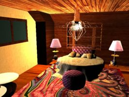 Psychedelic Room by ville2me