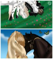 Tender moments -coloured- by saphiraly