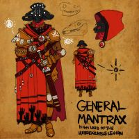General Mantrax by BlindKnight