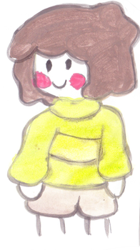 Watercolor Chara by ILoveBender101