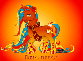 flame runner by xion9299