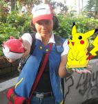 Cosplay Ash Ketchum by HollyMotto