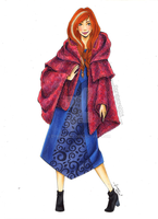 Fashion Illustration - Anna by zyrabanez
