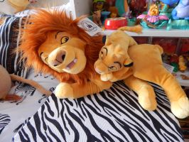 Lion King Disney Parks Simba and Mufasa 2014 by OliveTree2