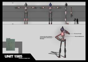 Unit 1985 - Orthographics by De1ty