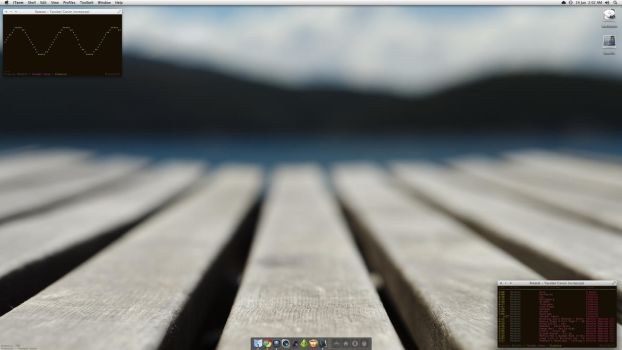 Current Desktop Layout by PhotonFossil