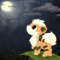 growlithe by animonzta