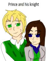 cover stoy of Prince and his knight :coming soon: by girlnephilim90