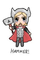 Thor - HAMMERRR! by Hatters-Workshop