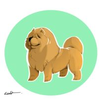 Chow Chow by Dil3mma