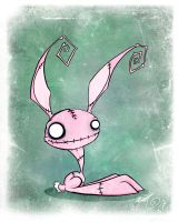 Lago The Zombie Bunny by BunnyBennett