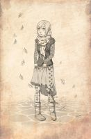 Fall by meteoric-iron