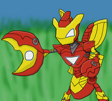 Ironscizor by statewee
