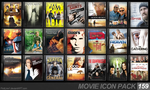 Movie Icon Pack 159 by FirstLine1