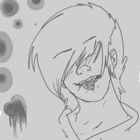 .: 'Cut tongue' random rushed drawing:. by Sniperisawesome