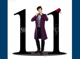 ELEVENTH DOCTOR by ChikKV