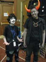 Gamzee and Tavros by Shadow-in-teh-Night6