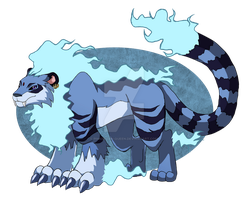 Radugamon by Berylunee