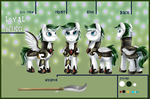 Ref Sheet: Loyal Wing by pridark