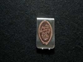 Flat Penny Money Clip by SomethingForEveryone